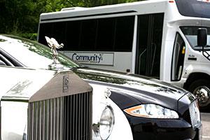 Rolls Royce, Jaguar, Luxury Shuttle, Community Transport Group
